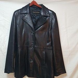 Marc New York Leather Coat